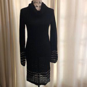 M Missoni Black Knit Dress